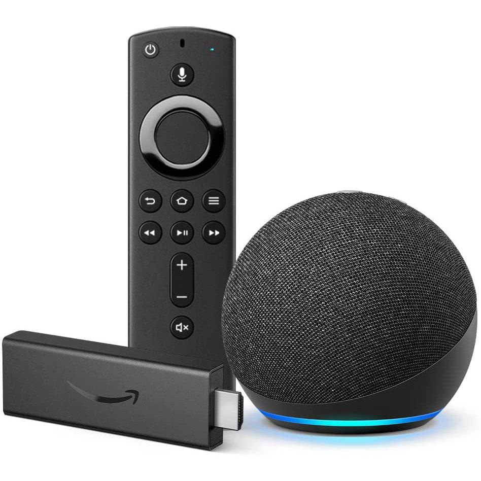 Amazon Fire Stick and All-New Echo Dot Bundle