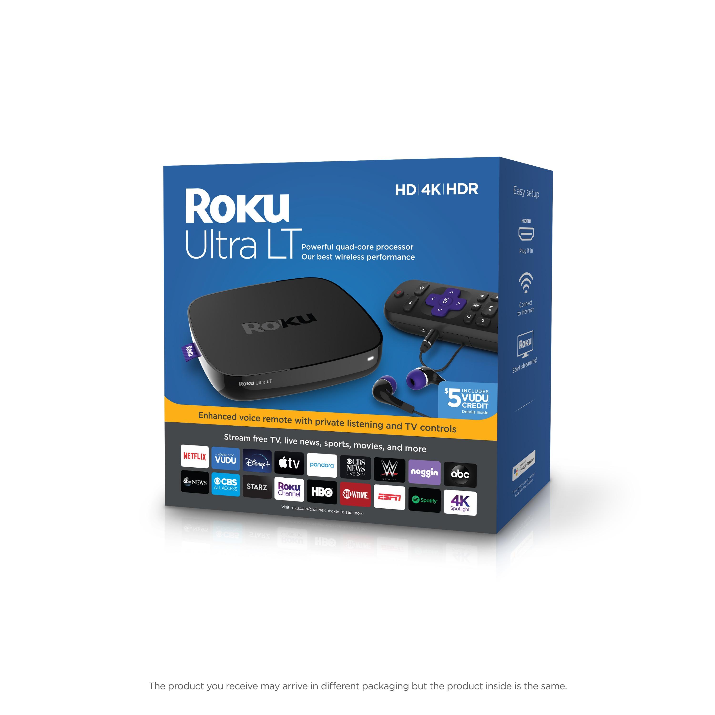Roku Ultra Lt HD/4K/HDR Streaming Media Player, best walmart black friday deals 2020