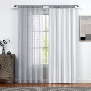 central park curtain liner, blackout shades