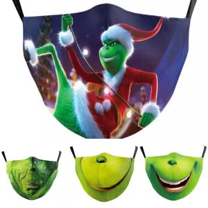 best christmas masks - Cherlaan The Grinch Face Mask