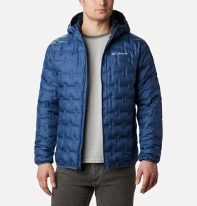 columbia men's delta ridge hooded down jacket, best puffer jackets