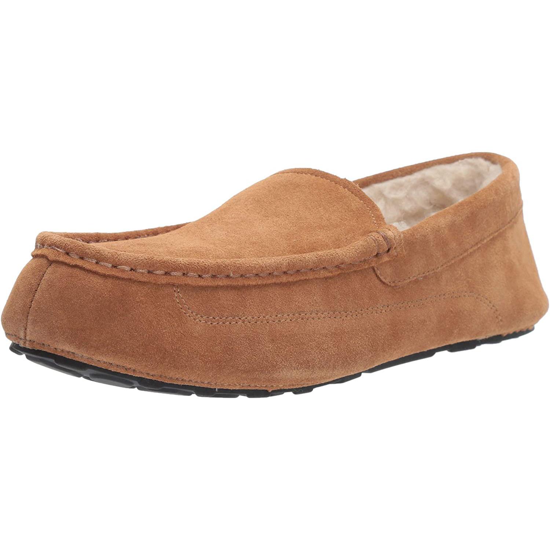 Amazon Essentials Leather Moccasin Slipper