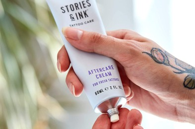 Stories & Ink Tattoo Care Aftercare & Repair Lotion
