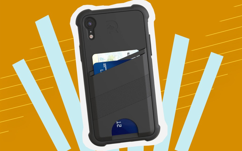 The Ridge Shockproof Card Case for