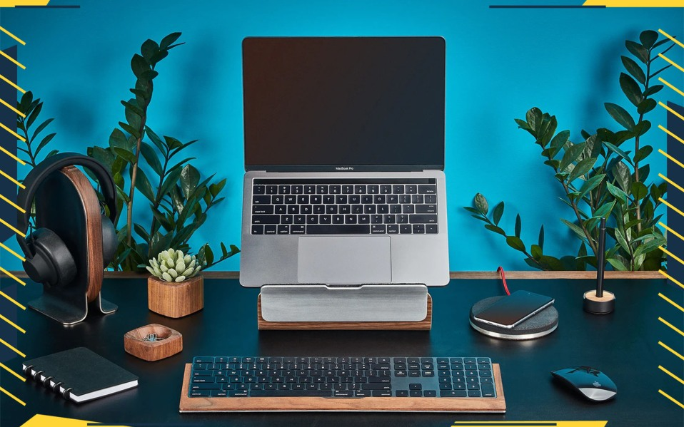 Grovemade Wood Laptop Riser