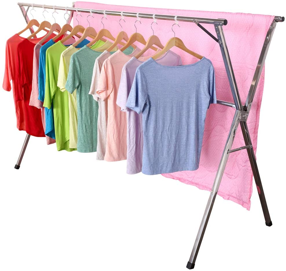 Exilot Heavy Duty Stainless Steel Laundry Drying Rack
