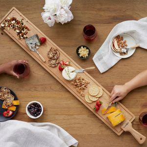 table grazing extra long cheese board, gifts for chefs