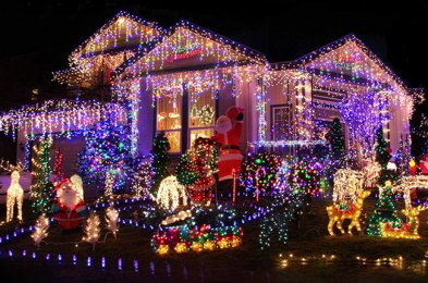 the best outdoor christmas lights for bringing holiday cheer to your yard this year