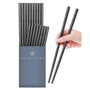GLAMFIELDS Fiberglass Alloy Chopsticks