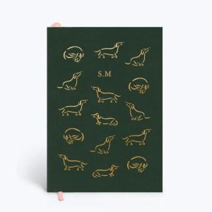 Papier Dachshund Notebook