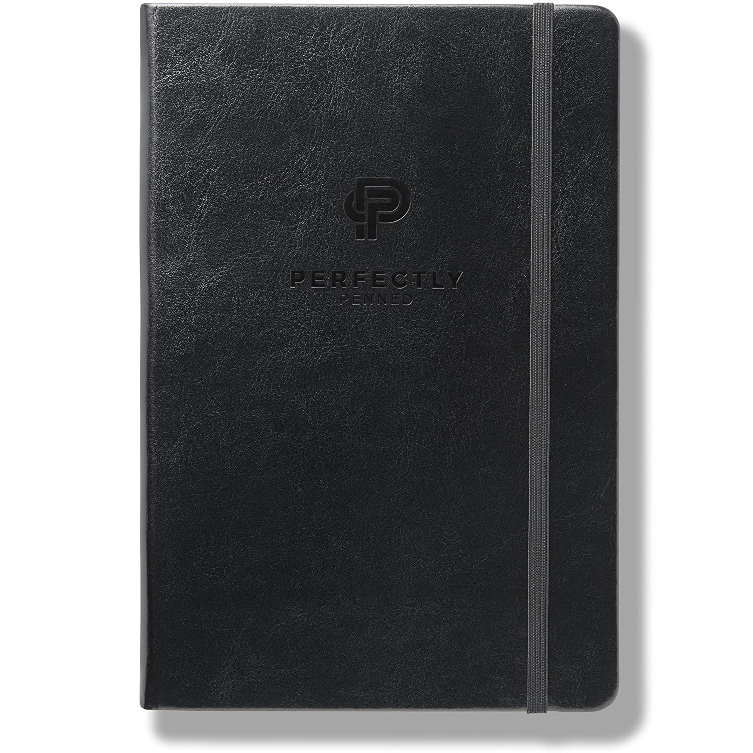 Perfectly Penned Lined Vegan Leather Notebook