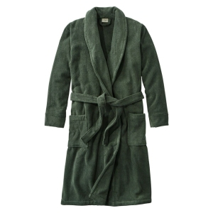 L.L.Bean L.L.Bean Terry Cloth Organic Cotton Robe