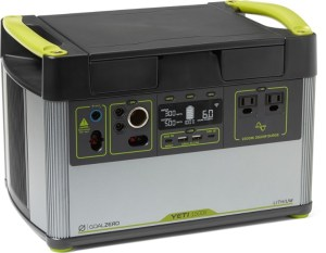 Goal Zero Yeti Lithium 1500X Portable Power Station, best portable generator