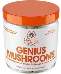 genius mushroom blend, what are adaptogens