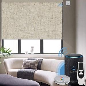 graywind motorized roller shades, smart blinds