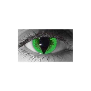 Lens.com Green Reptile Contact Lenses