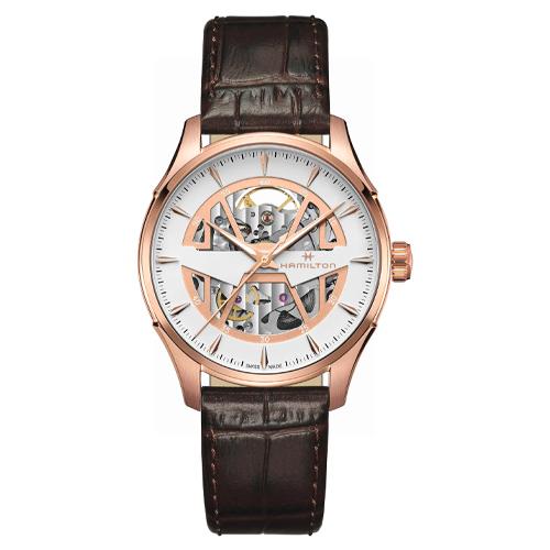 hamilton jazzmaster skeleton watch