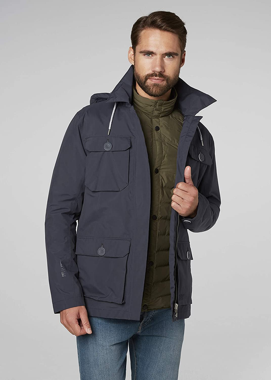 helly hensen elements field jacket blue