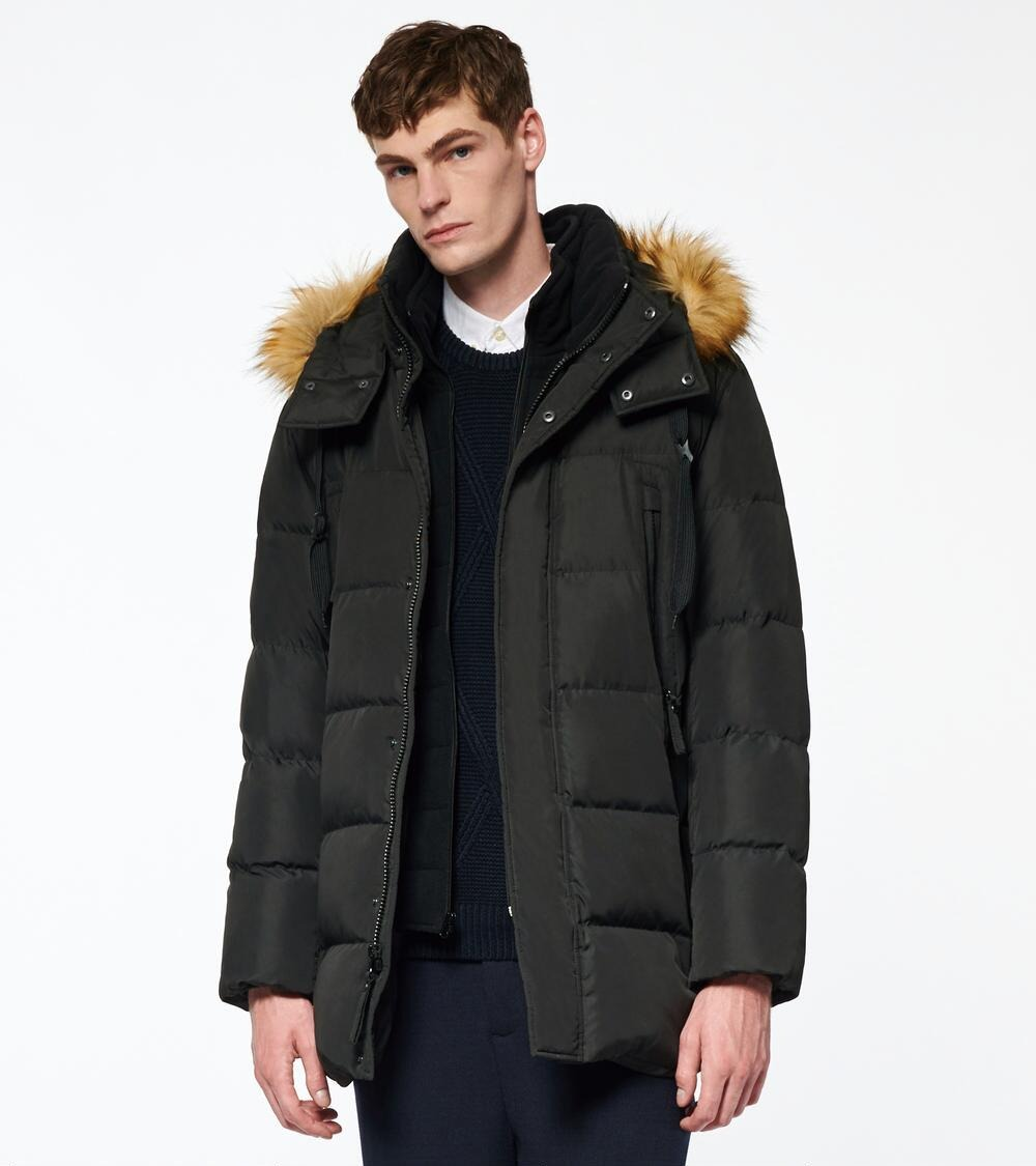 Andrew Marc Conway Matte Shell Puffer