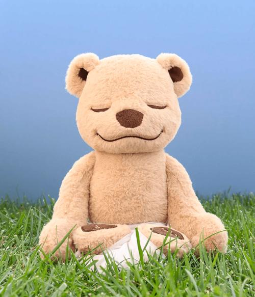 meddy teddy yoga bear, stuffed animals for adults