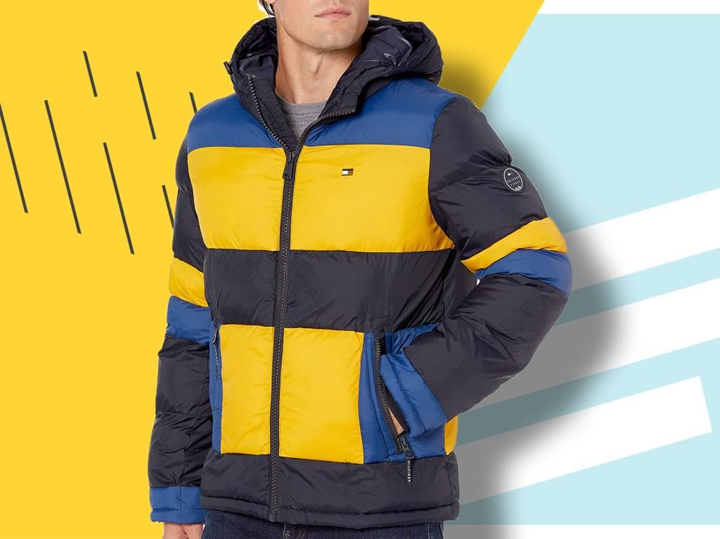 Mens Ultralight Hooded Duck Down Puffer Jacket Coat Warm Outwear Style