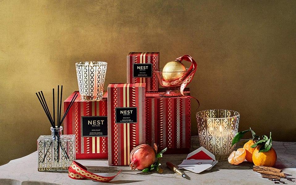 NEST Fragrances holiday candles, best hostess