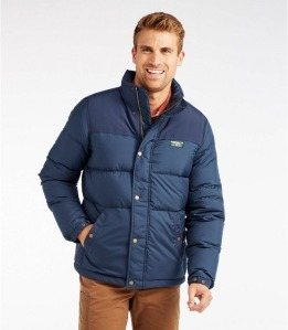 L.L.Bean men's mountain classic down jacket, best puffer jackets