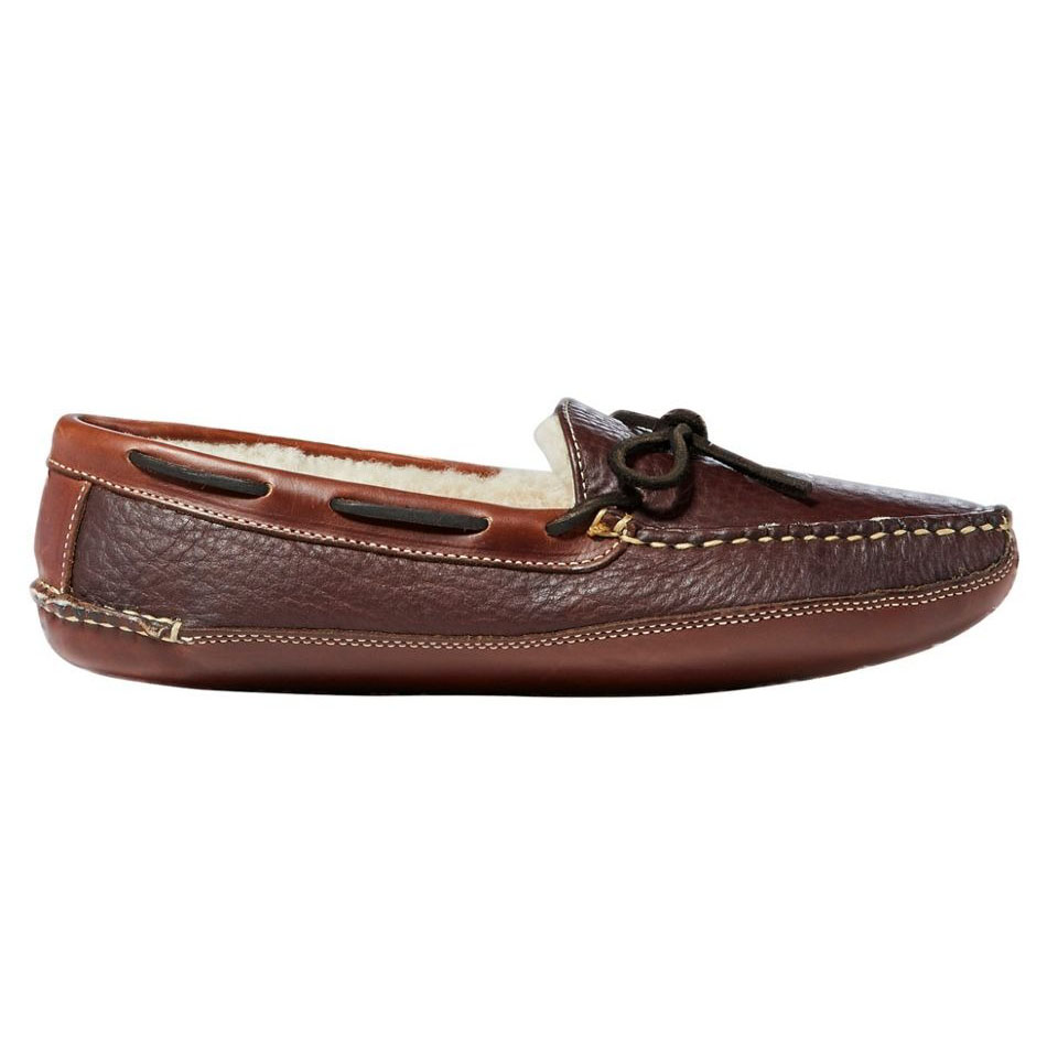 L.L.Bean Bison Double-Sole Slippers