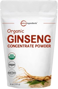 organic ginseng powder, what are adaptogens