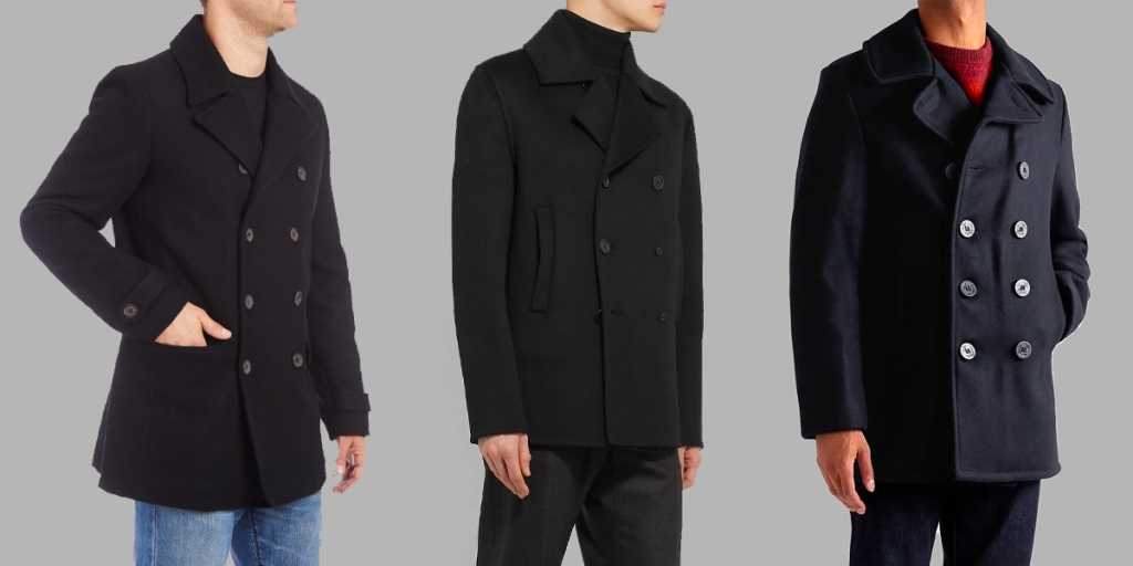 men's peacoats style guide