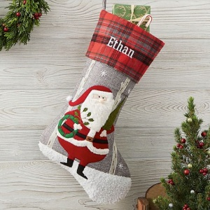 personalized Christmas stocking, Christmas stocking