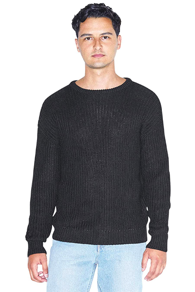 prime day fashion deals -American Apparel Fisherman's Long-Sleeve Pullover Knit Sweater