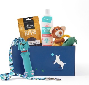 puppy gift box, gifts for dog lovers