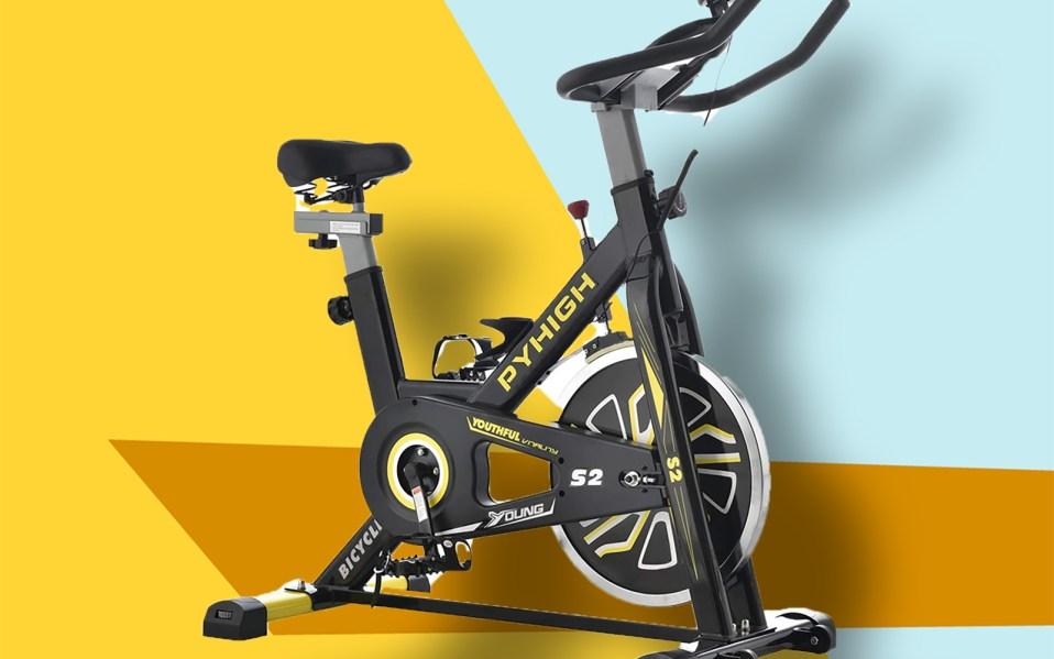 pyhigh indoor spin bike