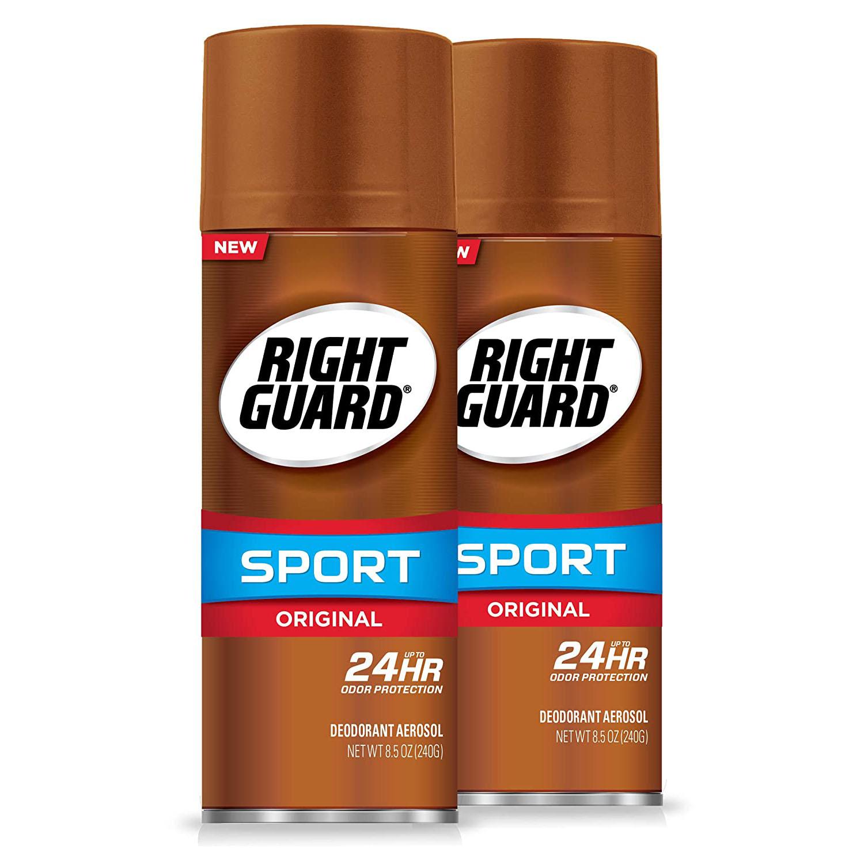 Right Guard Sport Original Deodorant Aerosol Spray