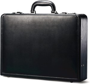 Samsonite bonded leather briefcase, best briefcase for lawyers