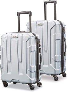 samsonite centric expandable luggage set, prime day deals, luggage deals, amazon prime day