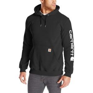 Carhartt Midweight Sleeve Logo Hooded Sweatshirt