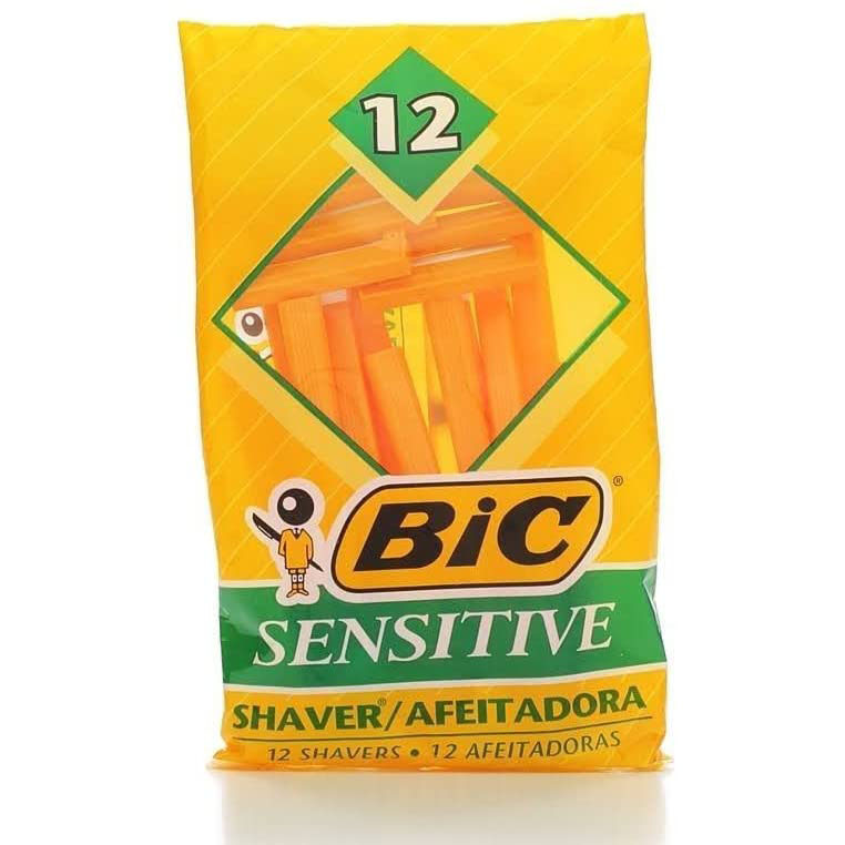 BIC Sensitive Single Blade Shaver, best razors for men