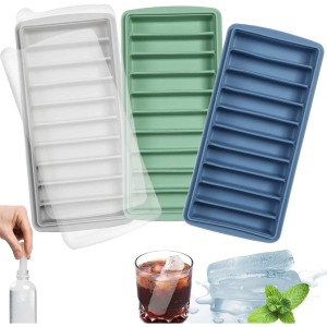 Long Ice Stick Tray Silicone Trays