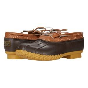 L.L.Bean Bean Boots Rubber Moc