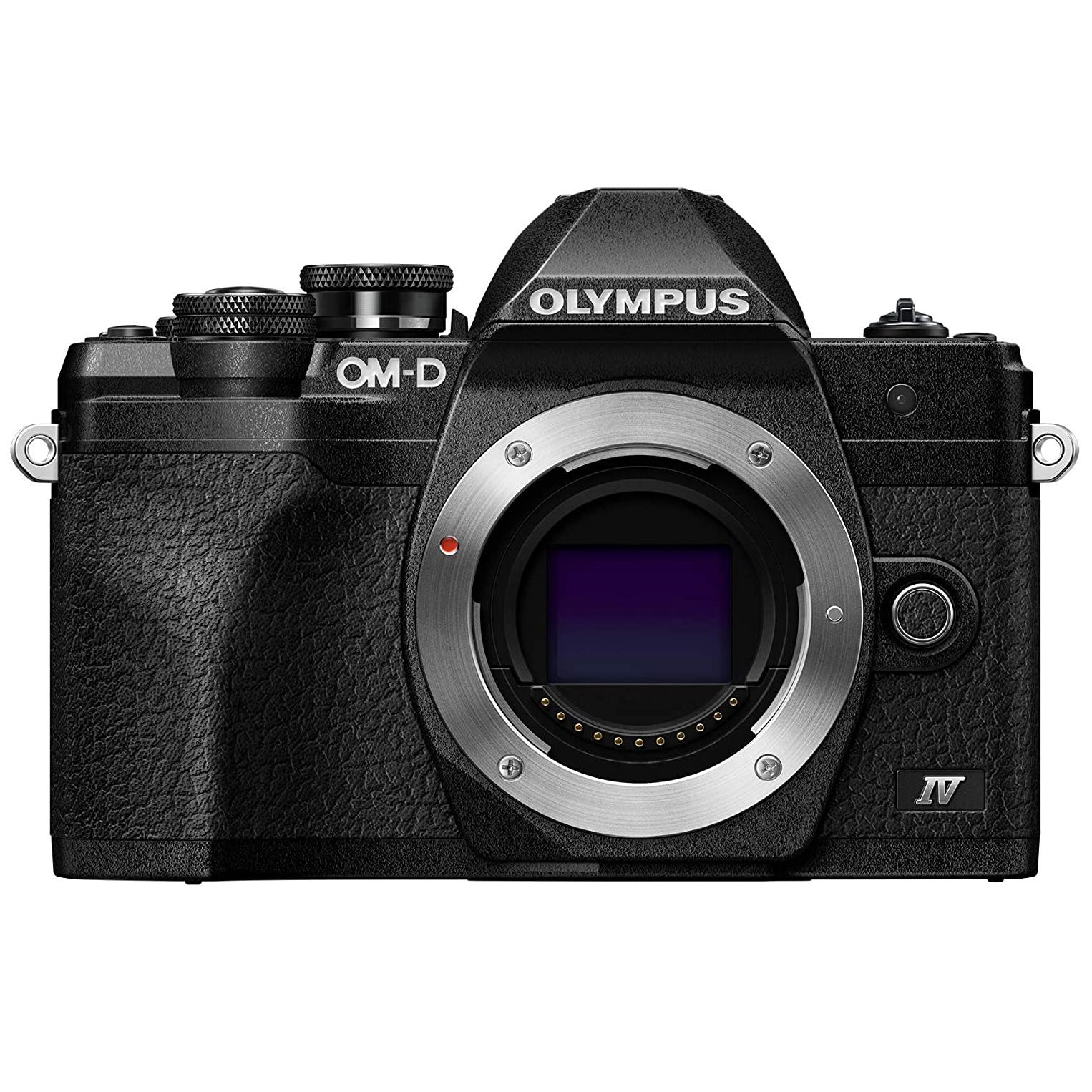 Olympus OM-D E-M10 Mark IV Mirrorless Camera
