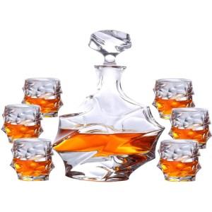 ZZKOKO Whiskey Decanter Set