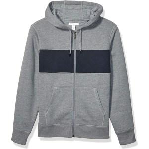 Amazon Essentials Full-Zip Hooded Fleece Sweatshirt