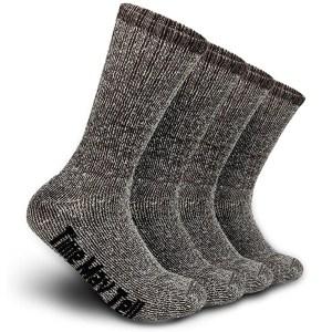 Time May Tell Merino Wool Hiking Cushion Socks, best wool socks