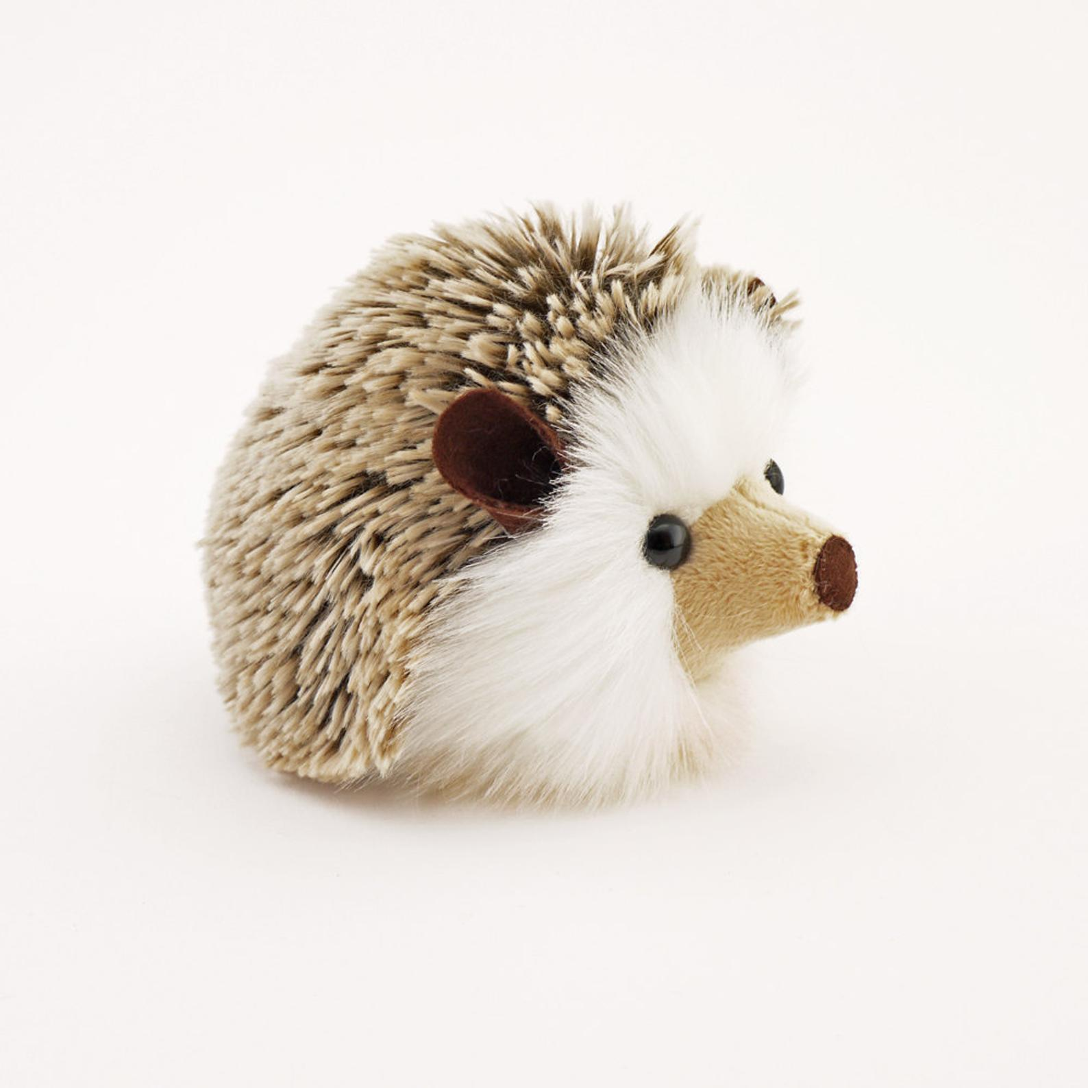 stuffed hedgehog from etsy