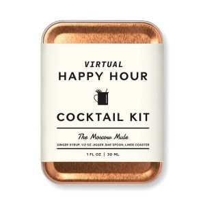 W&P The Moscow Mule Virtual Happy Hour Cocktail Kit