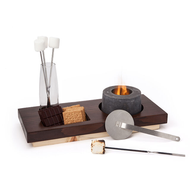 Uncommon Goods indoor smores fire pit