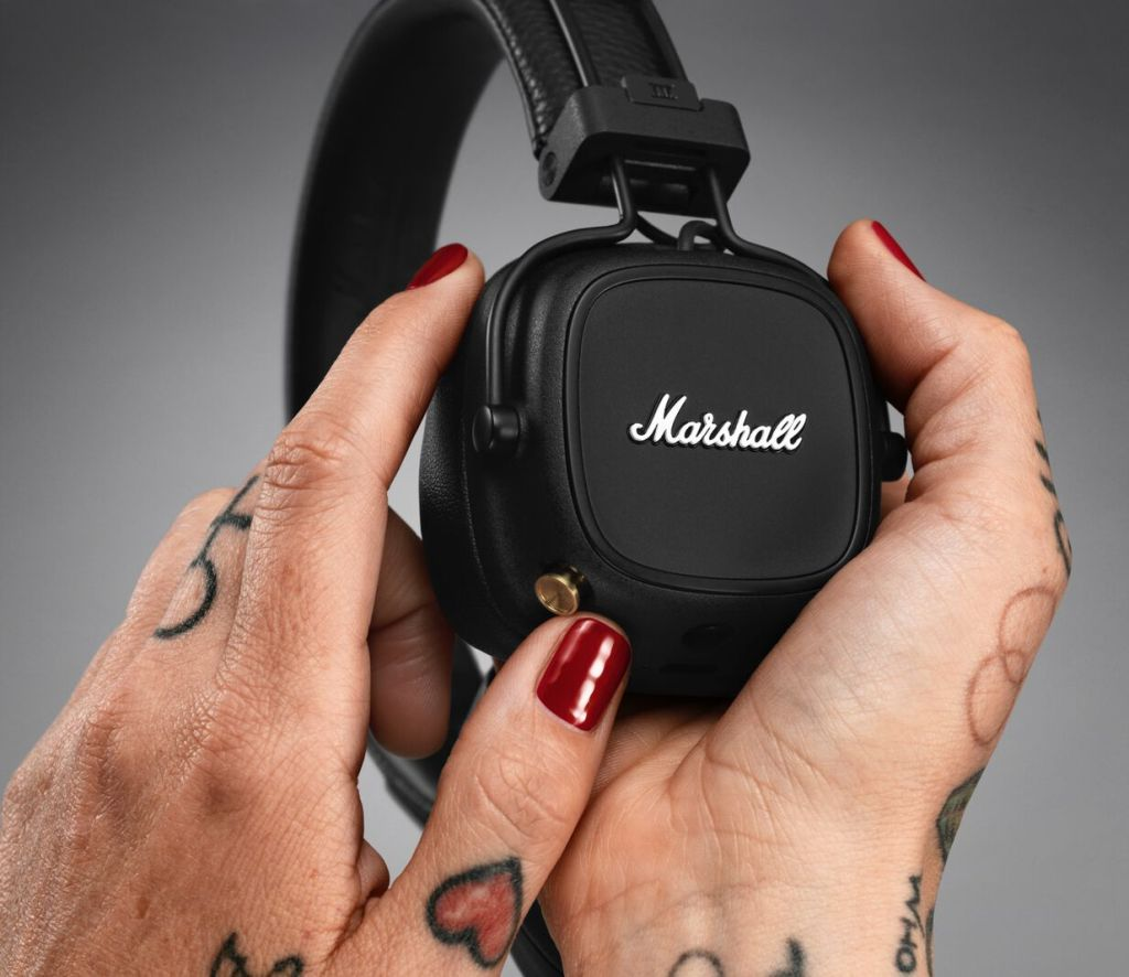 marshall major iv wireless headphones