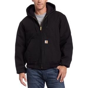 Carhartt Quilted Flannel Lined Duck Active Jacket